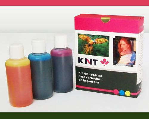 kit de recarga para cartuchos hp color ¡nueva presentación!