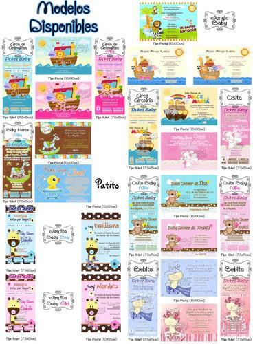 kit de recuerdos baby shower invitaciones impremelo tu!