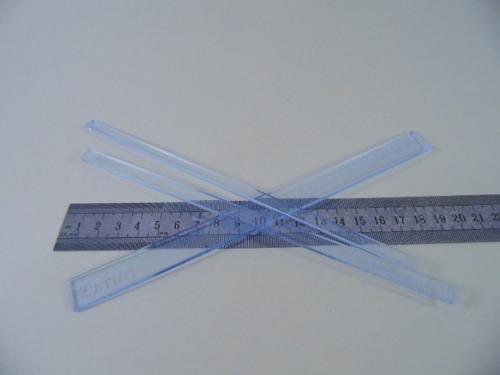 kit de réguas para encadernaçao e cartonagem - baby