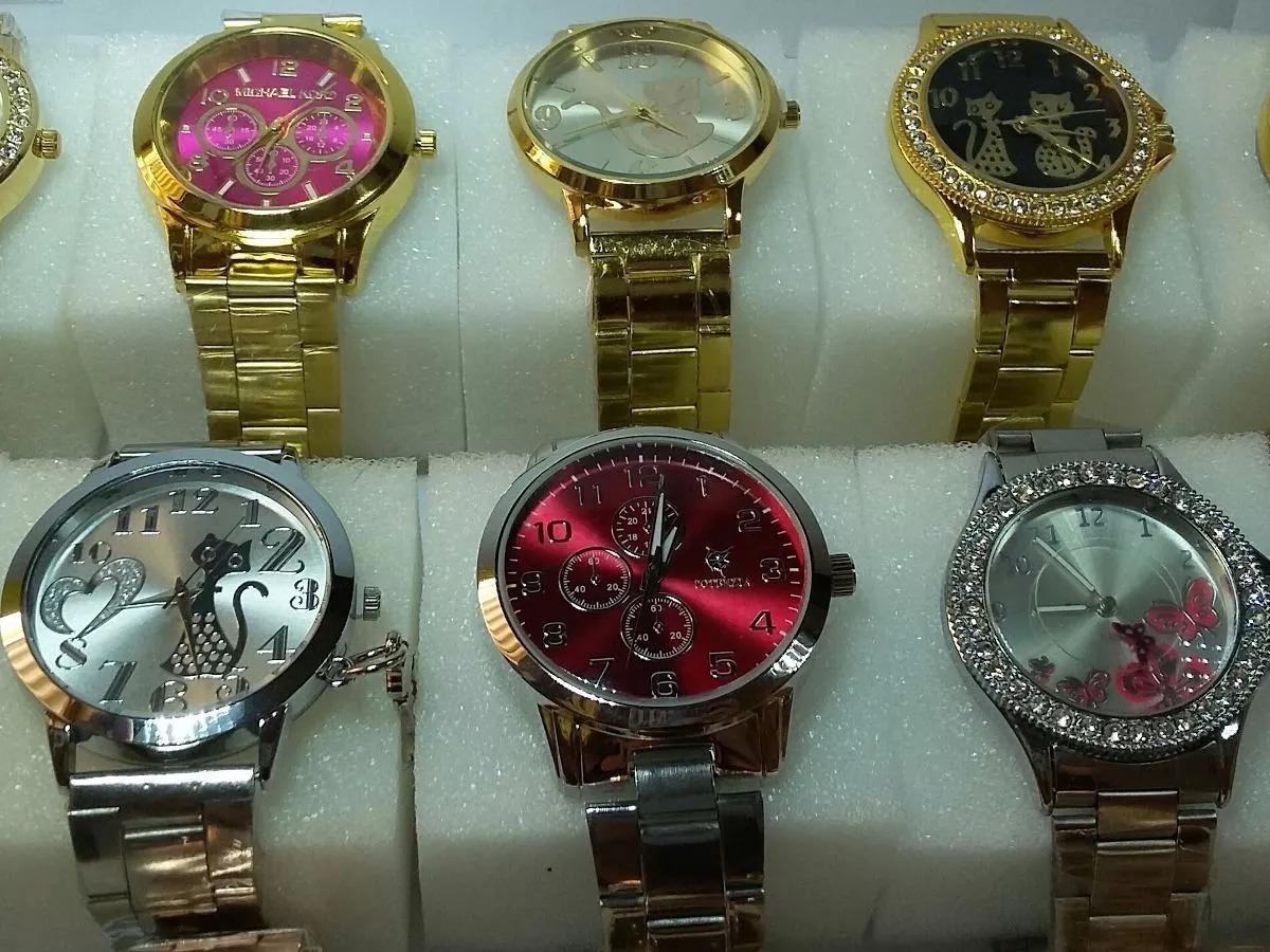 7d42551e4c7 kit de relógio feminino lote com 5 peças vários modelos atac. Carregando  zoom.