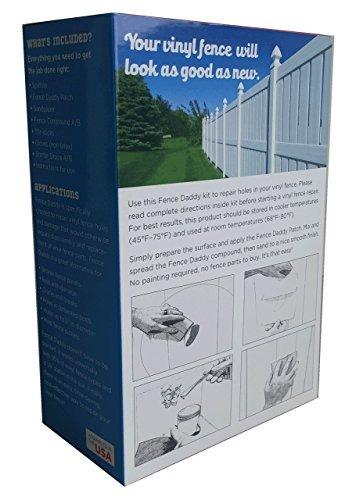 kit de reparación de poste de vinilo para valla (alternativa