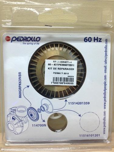 kit de reparacion para bomba 1/2hp pedrollo pkm60 pqm60