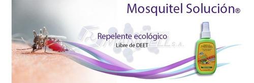kit de repelentes p  mosquitos: ambiental, crema y spray