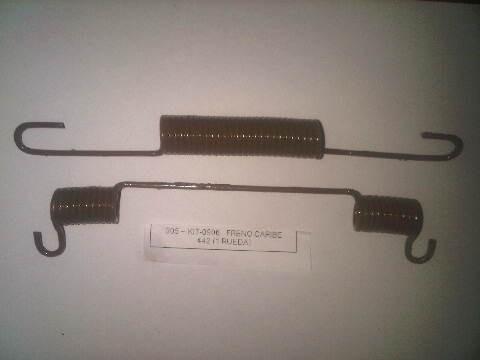 kit de resorte de freno trasero para caribe 442 año 89