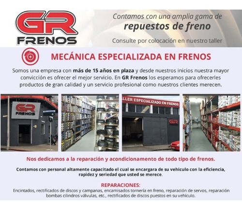 kit de resortes freno ford f100 f1000 tras 1 rueda gr frenos
