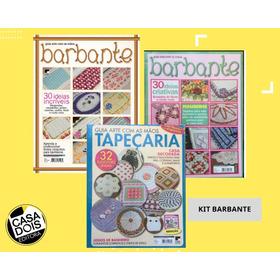 Kit De Revistas De Barbante E Tapeçaria!