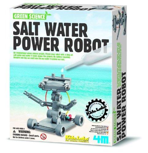 kit de robot accionado por agua de sal 4m