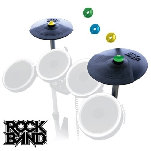 kit de rock band 2 platillo doble expansión