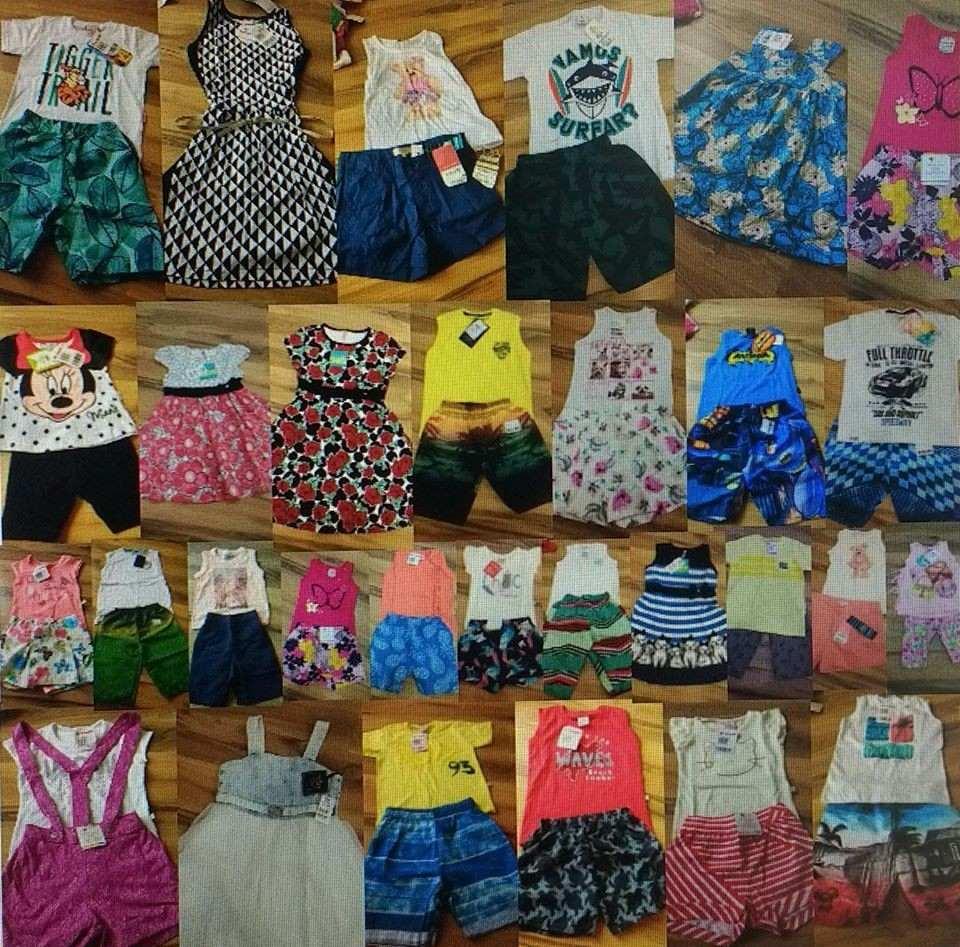 450bce121 kit de roupas infantil marcas mistas as melhores marcas. Carregando zoom.