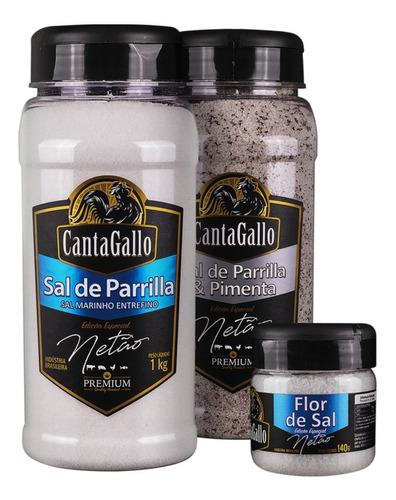 kit de sal ed. especial netão - cantagallo bbq