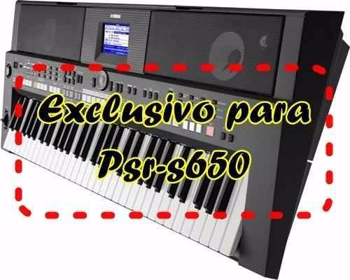 kit de samples para psr s650