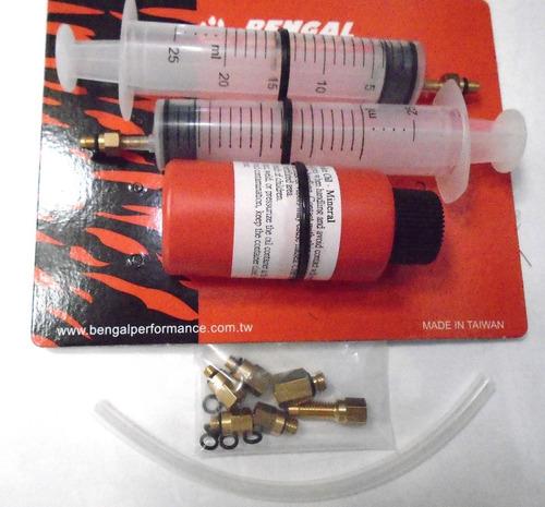 kit de sangria bengal freio hidraulico shimano e outros.