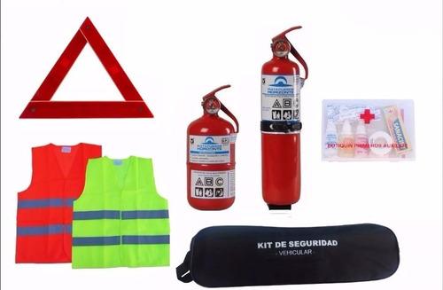 kit de seguridad para autos reglamentario 7 en 1 - ideal vtv
