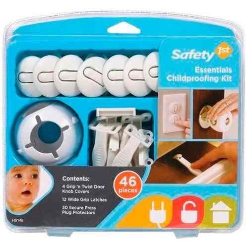 kit de seguridad para elhogar safety de 46 piezas