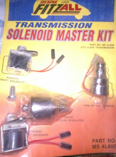 kit de selenoides general motor caja 4l80e
