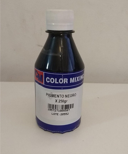 kit de serigrafia - base transp y pigmento negro