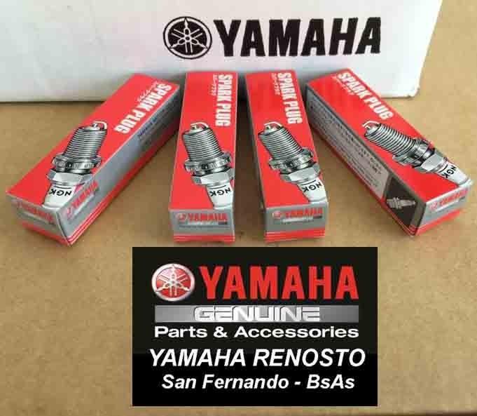 Kit De Servicio Motos De Agua Yamaha Vx1100 4 Cil Con Bujías