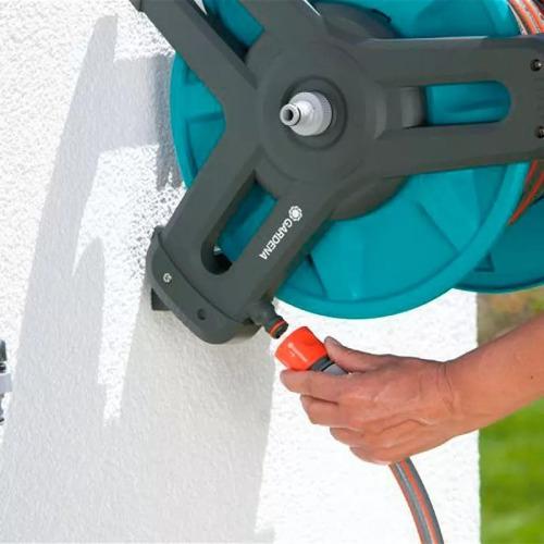 kit de soporte portamanguera mural 50 gardena 8009 pacheco
