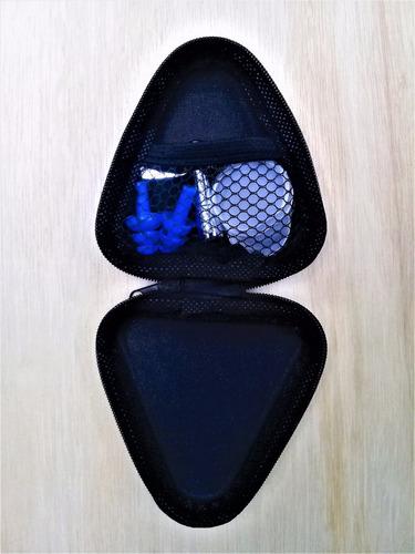 kit de sordinas silent drum para batería con ear plugs
