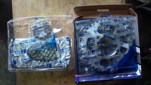 kit de sprocket y cadena para italika 150z