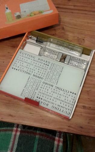 kit de tabla y especieros
