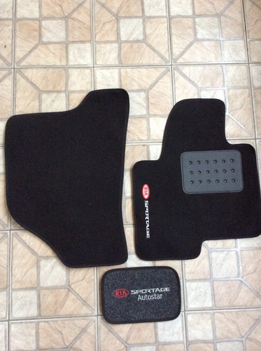 kit de tapetes de tecido kia sportage