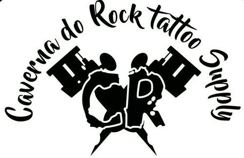 kit de tatuagem bivolt completo profissional + brinde tattoo