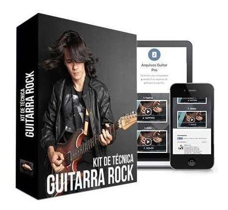 kit de técnicas para guitarra rock