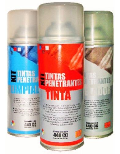 kit de tintas penetrantes trytech para ensayo soldaduras
