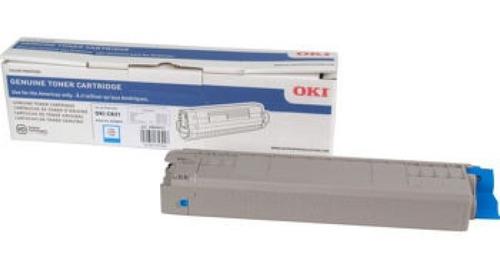 kit de toner okidata original c831 - cyan-magenta-yellow-bk