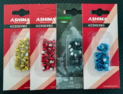 kit de tornillos para rotor de acero inox. ashima