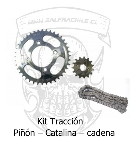 kit de transmisión para honda cgl 125