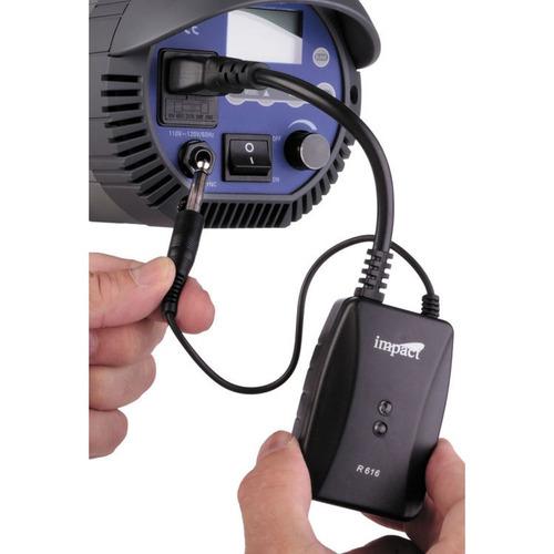 kit de trigger para flash 16 canales elinchrom impac r616