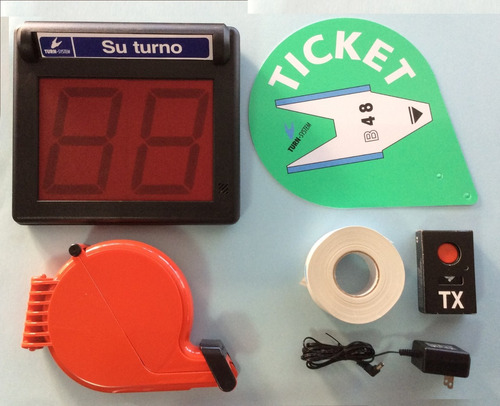 kit de turno (turnomatic) mini-point imnalambrico.