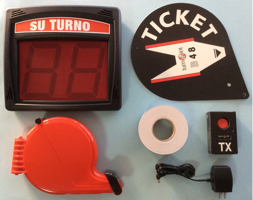 kit de turno (turnomatic) turn-point imnalambrico.