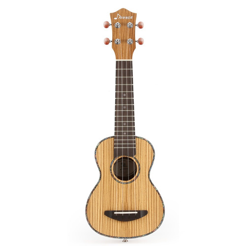 kit de ukelele donner zebrawood ukulele soprano dus-2 de.