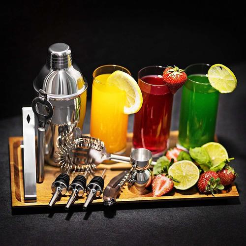 kit de utensilios de bar cóctel 12 piezas