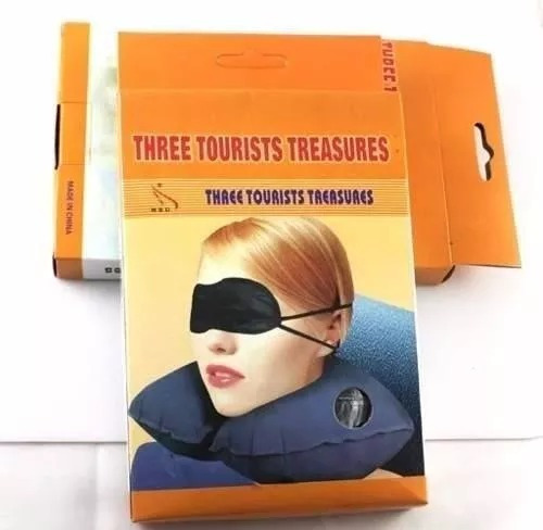 kit de viajero 3 en 1 (antifaz-almohada-protector auditivo)