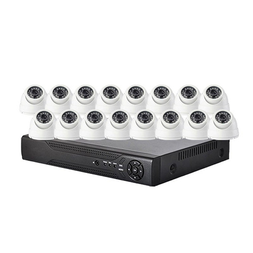 kit de vigilancia 16 canales ahd completo