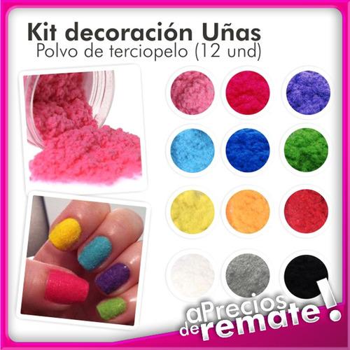 kit decora uñas
