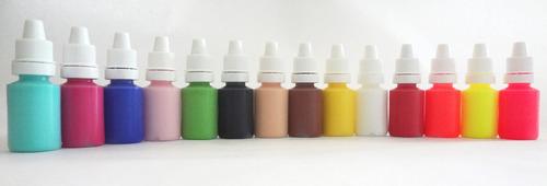 kit decoración de uñas - acrílicos -