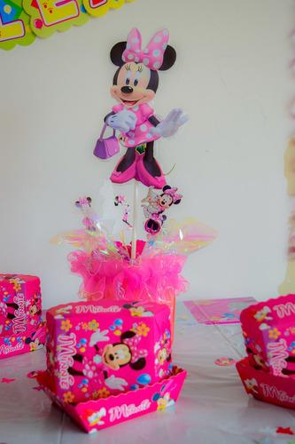 kit decoracion fiesta infantil minnie 61 artículos