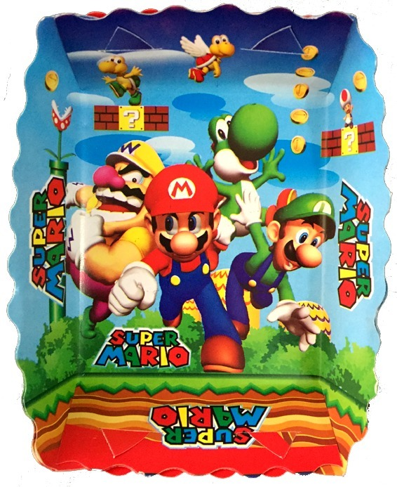 Kit Decoración Fiesta Mario Bros Cumpleañospiñata 50000 En