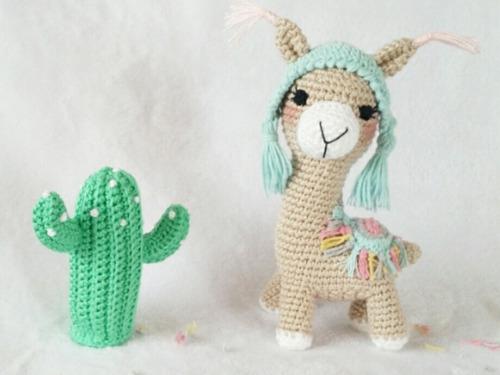 Cactus Crochet Amigurumi 4 Cm Diámetro - $ 120,00 en Mercado Libre | 375x500