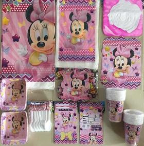 Kit Decoracion Piñata Fiesta Infantil Minnie Mouse Baby