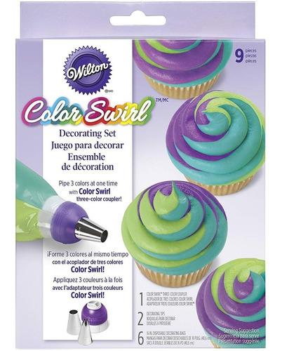 kit decoracion tres colores wilton 2104-7072