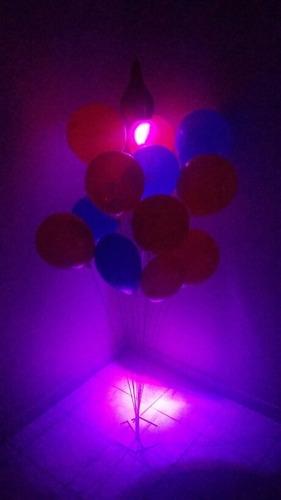 kit decoração buffe festa suportes varetas bexigas gas hélio