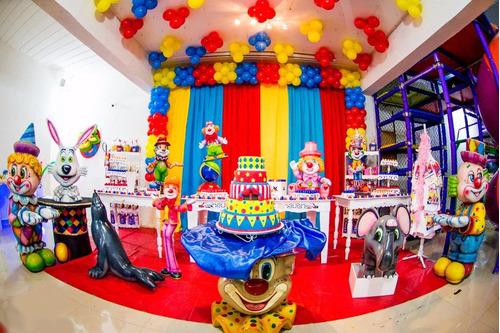 kit decoração de festa infantil - 5 temas personalizados