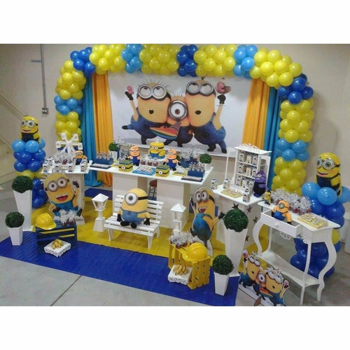 kit decoração de festa infantil - 5 temas,cenários e painel