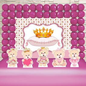 a1ddf66cd Decoração De Festa Princesas no Mercado Livre Brasil